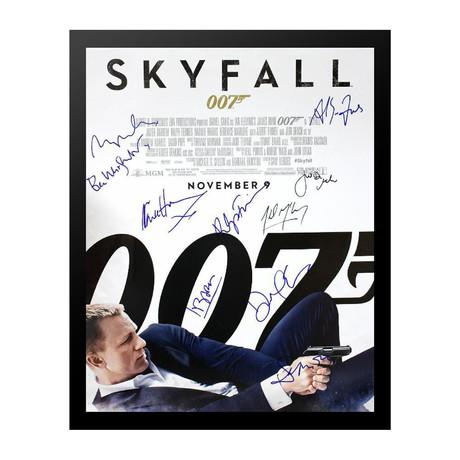 Signed + Framed Poster // Skyfall