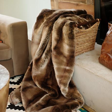 Couture Faux Fur Throw // Puma