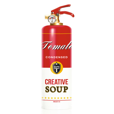 Safe-T Design Fire Extinguisher // Soup