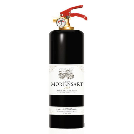 Safe-T Design Fire Extinguisher // Wine