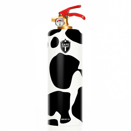 Safe-T Design Fire Extinguisher // Cow