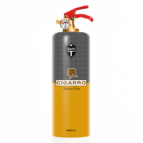 Safe-T Design Fire Extinguisher // Cohiba