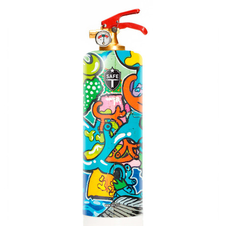 Safe-T Design Fire Extinguisher // Pop Street