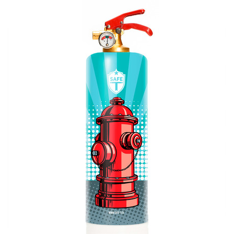 Safe-T Designer Fire Extinguisher // Pop Hydrant