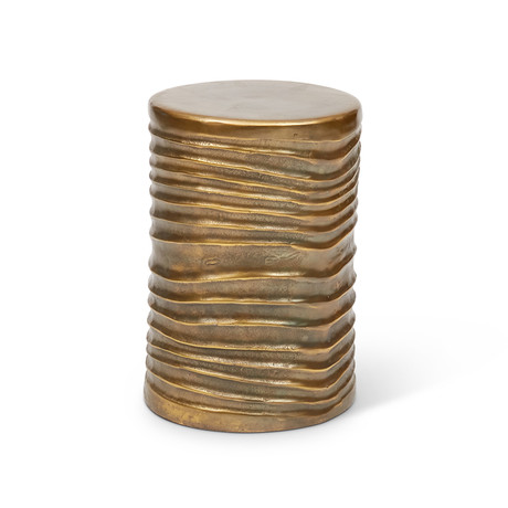 Tara Stool (Antique Brass)
