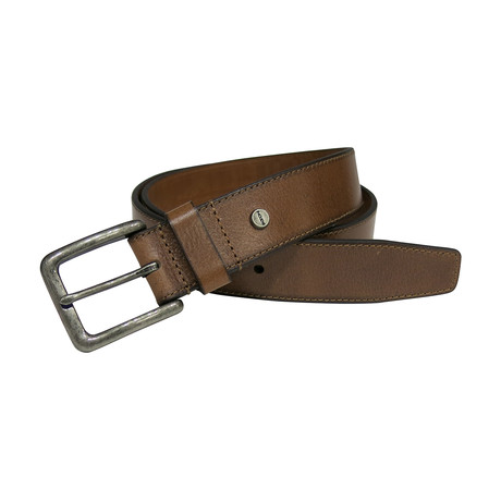 Stewart Genuine Leather Dress Casual Belt // Tan (32)