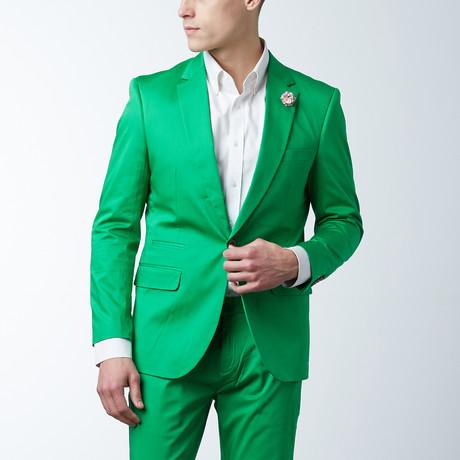 Solid Casual Blazer // Fern Green (S)