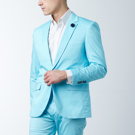 Solid Casual Blazer // Mineral Ice (S)