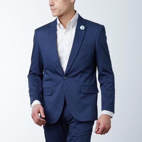 Solid Casual Blazer // Navy (S)