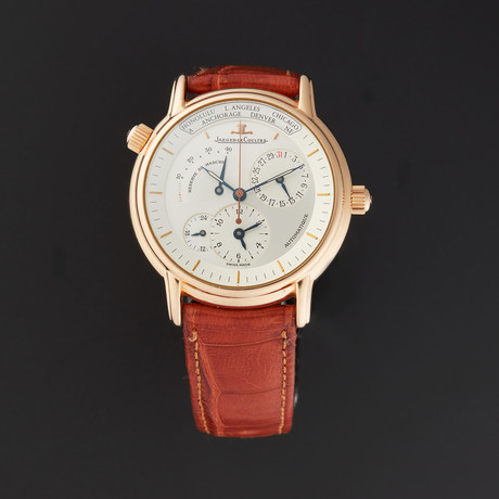 Jaeger Lecoultre Geographique Automatic // Pre-Owned