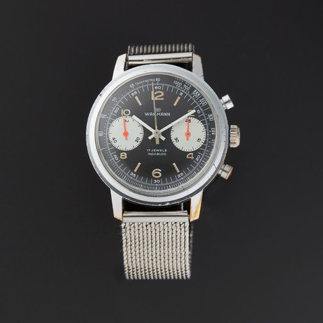 Wakmann Incabloc Chrono Manual Wind // Pre-Owned