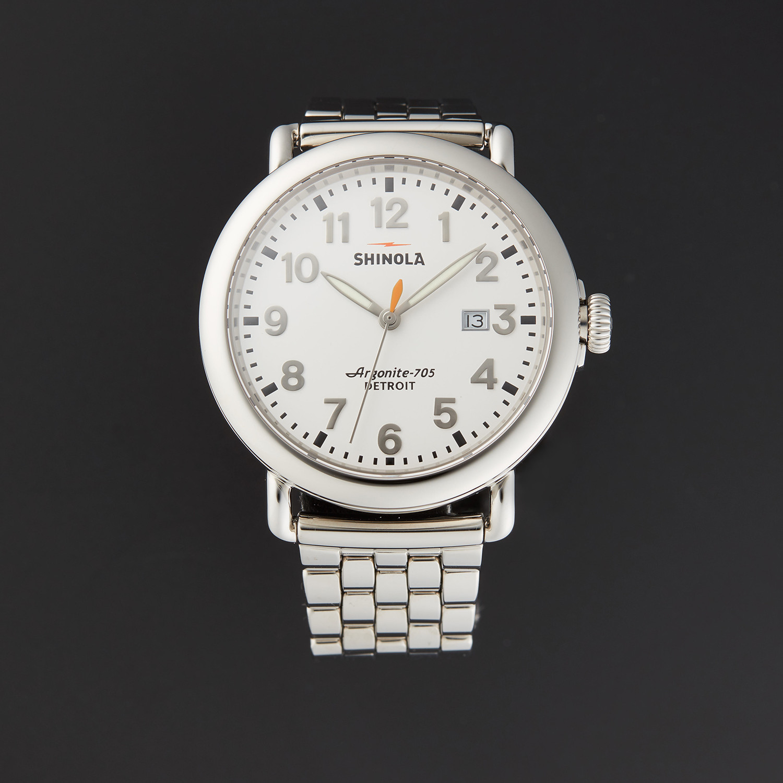 Shinola argonite quartz store display world class watches touch of modern for Argonite watches
