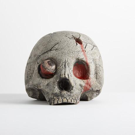 Ceramic Zombie Skull // Single
