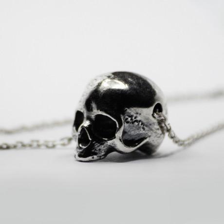 Skull Pendant // Silver