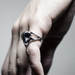 Bird Skull Ring (Size: 10)