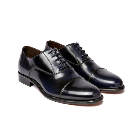 Cap Toe Oxford I // Navy (Euro: 40)