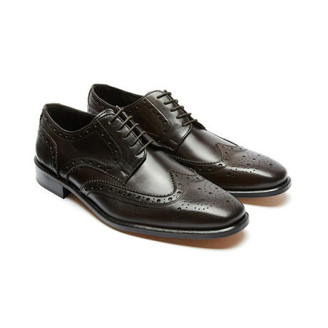 Wingtip Derby // Dark Brown (Euro: 40)