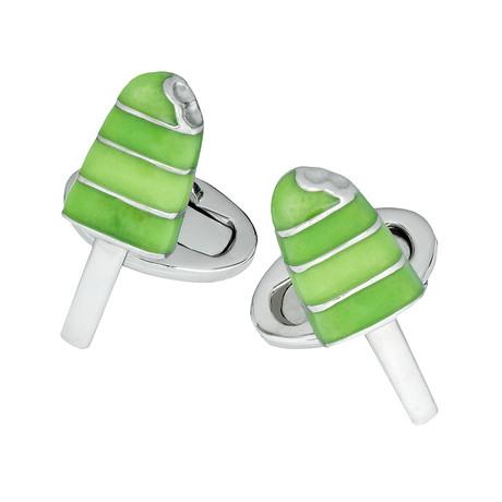 Popsicle Cufflinks // Green