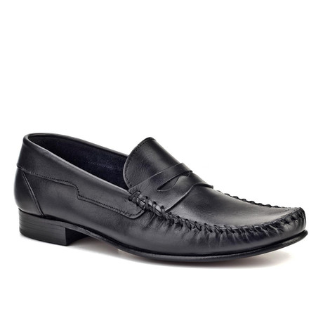 Lexington Loafer Shoes // Black