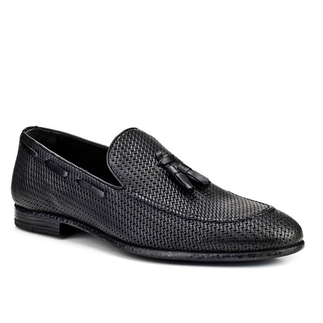 Sheridan Loafer Shoes // Black