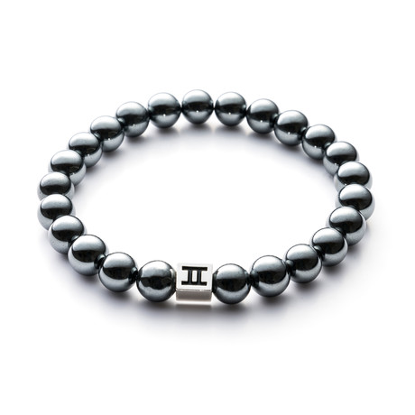 Classic Collection Bracelet // Dark Silver // 8mm (M)