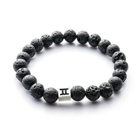 Classic Collection Bracelet // Black Lava // 8mm