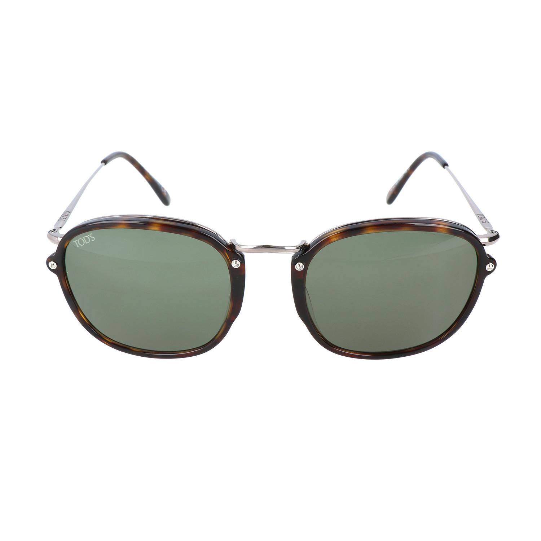 Round Framed Sunglass // Havana - Tod\'s Sunglasses - Touch of Modern