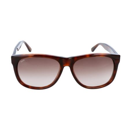 Men's TO0165 52J Sunglasses // Dark Havana