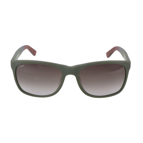 Men's TO0191 Sunglasses // Matte Dark Green
