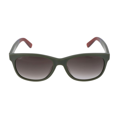 Men's TO0190 Sunglasses // Matte Dark Green