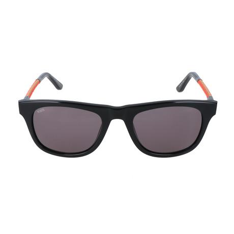 Phypher Sunglass // Black + Orange