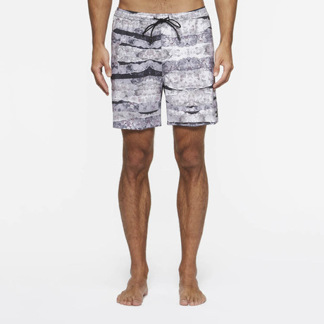 Desmond Pool Shorts // Floral Day (S)