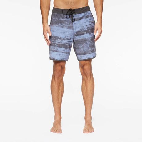 Highland Pool Shorts // Blue Rock + Black (S)