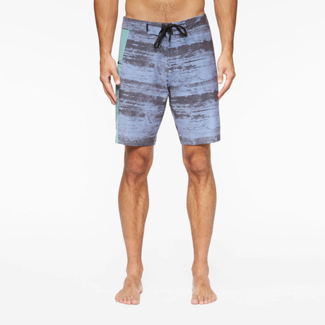 Solana Board Shorts // Blue Rock + Sea Mist (S)
