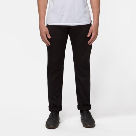 Gilet 5 Pocket Pant // Black Selvedge (S)