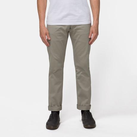 Gilet 5 Pocket Pant // Clay Selvedge (S)