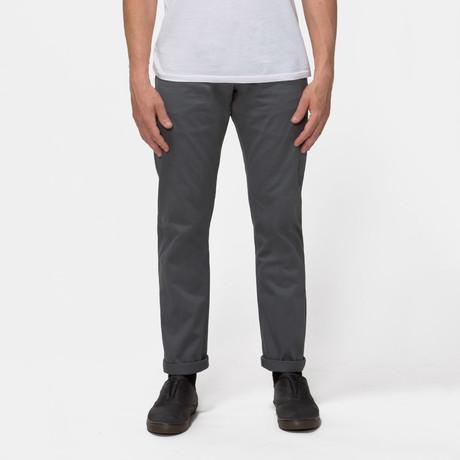 Gilet 5 Pocket Pant // Grey Selvedge (S)