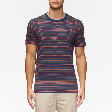 Porto Short Sleeve Shirt // Natural Stripe (S)