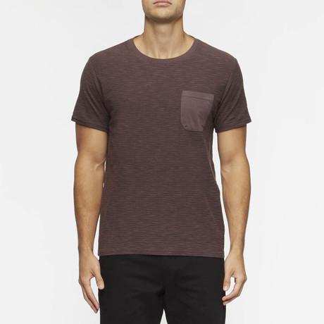 Redondo Short Sleeve Shirt // Lunar Purple +  Faded Purple Stripe (S)