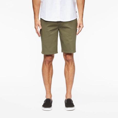 Annex Walk Shorts // Fatigue Green (S)