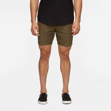 Collins Walk Shorts // Fatigue Green (S)