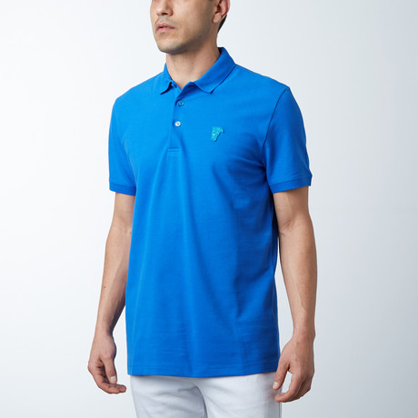 Small Logo Polo // Royal Blue