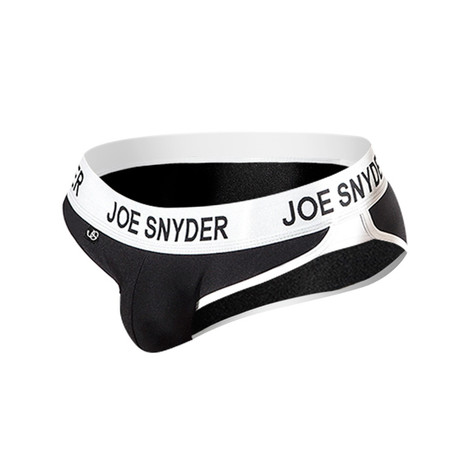 Joe Snyder Active Wear Bikini // Black (S)