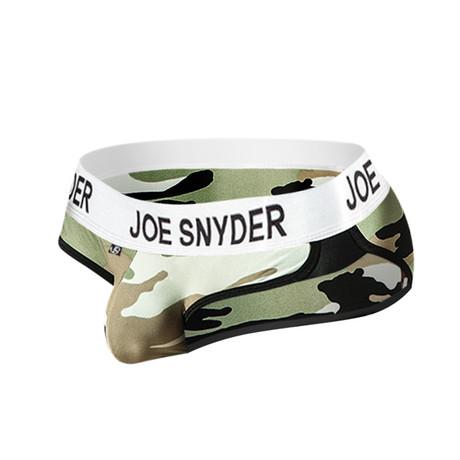 Joe Snyder Active Wear Bikini // Camo (S)