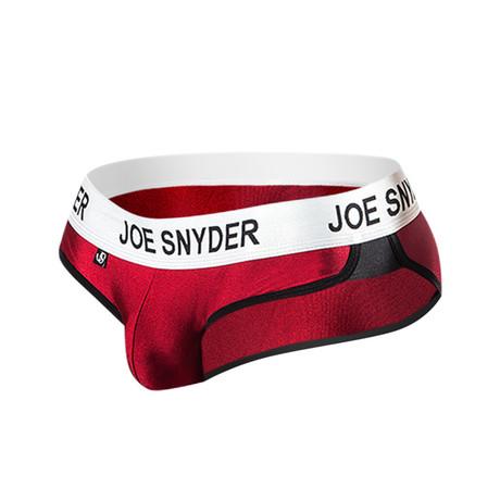 Joe Snyder Active Wear Bikini // Wine (S)