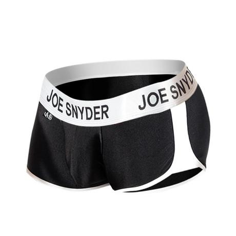 Joe Snyder Activewear Boxer // Black (S)