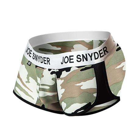 Joe Snyder Activewear Boxer // Camo (S)