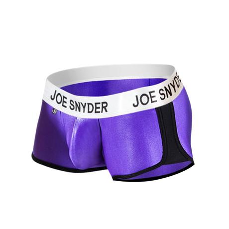 Joe Snyder Activewear Boxer // Purple (S)