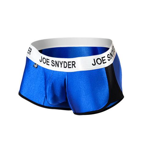 Joe Snyder Activewear Boxer // Royal (S)