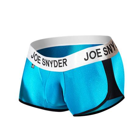 Joe Snyder Activewear Boxer // Turquoise (S)